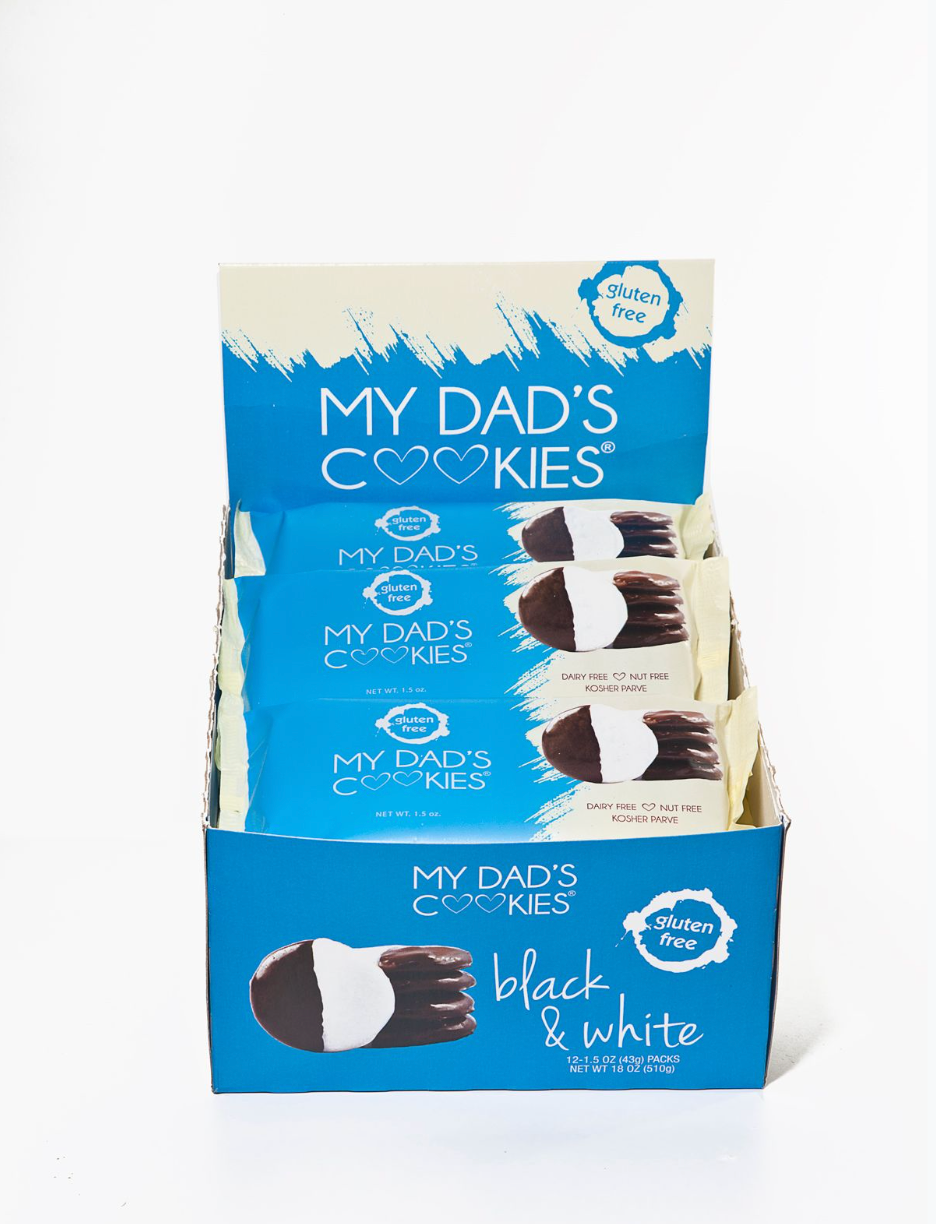 12 Pack (Grab & Go) Black & White Cookie