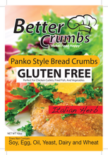 Load image into Gallery viewer, Better Crumbs: Panko Style Bread Crumbs (Italian Herb)
