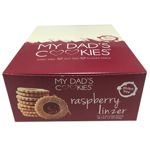 12 Pack (Grab & Go) Raspberry Linzer