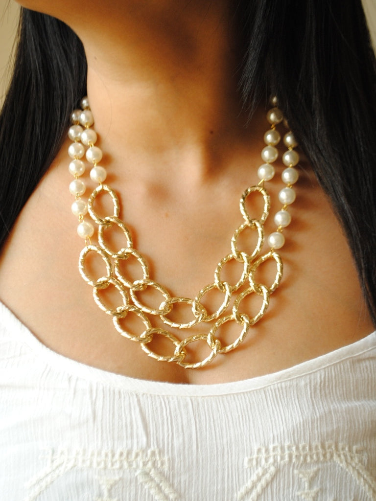 Sienna Pearl Necklace