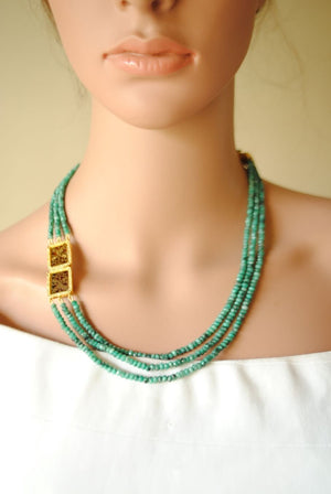 Open image in slideshow, The Thewa Neckpiece