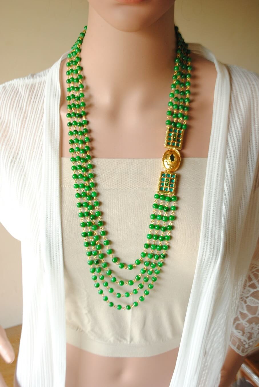 The Green Princess Necklace