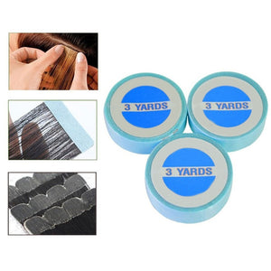 MilkySkinForever 3m/Roll Glue Double-sided Adhesive No-trace Wig Hairpiece Hair Extension Tape