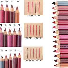 Load image into Gallery viewer, MilkySkinForever Women's Waterproof Lip Lipliner Make Up Beauty Tools Cosmetic Pencils 15cm
