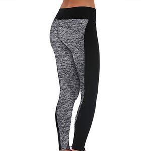 MilkySkinForever Women's Sports Trousers Athletic Gym Workout Fitness Yoga Slim Leggings Pants