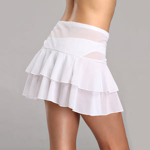 MilkySkinForever Women Sexy Cover Up Solid Color Beach Skirt Summer Swimwear Bandage Beachwear