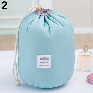 MilkySkinForever Cosmetic Jewelry Organizer Wash Toiletry Makeup Travel Drawstring Storage Bag Case