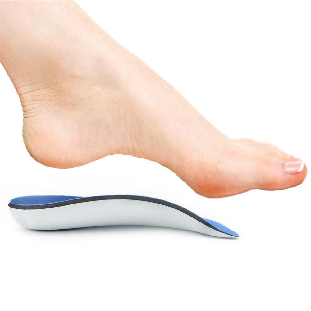 MilkySkinForever Universal Thin Arch and Heel Supports Orthotic Shoe Insole Foot Corrector Tool