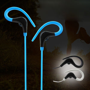 MilkySkinForever Wired Universal Heavy Bass Earphone Ear Hook Sports Running Headphone Headset