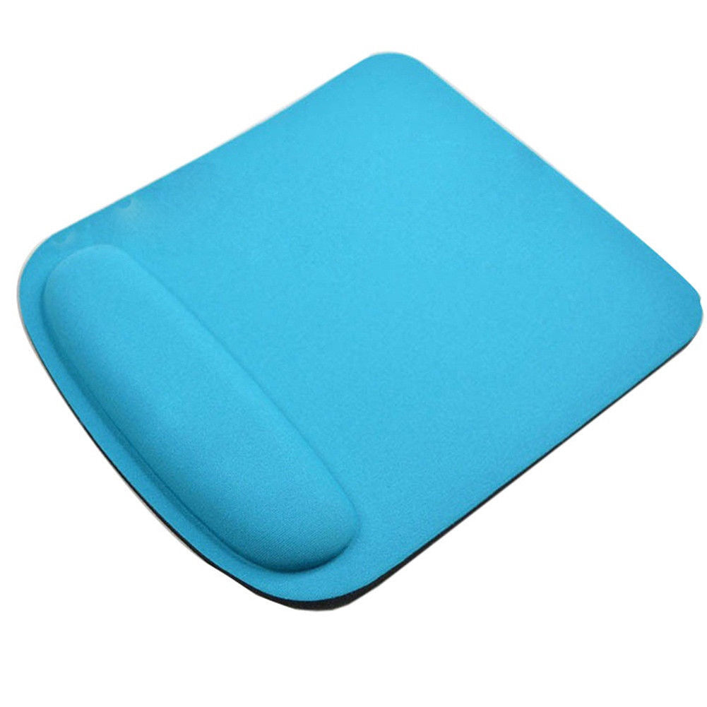 MilkySkinForever Anti Slip Soft Wrist Support Game Mouse Mat Square Pad for Computer PC Laptop