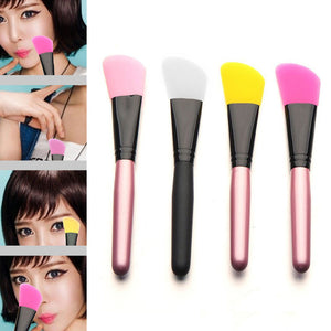 MilkySkinForever  Facial Mud Mask Flat Silicone Makeup Brush Skin Face Care Cosmetic Applicator