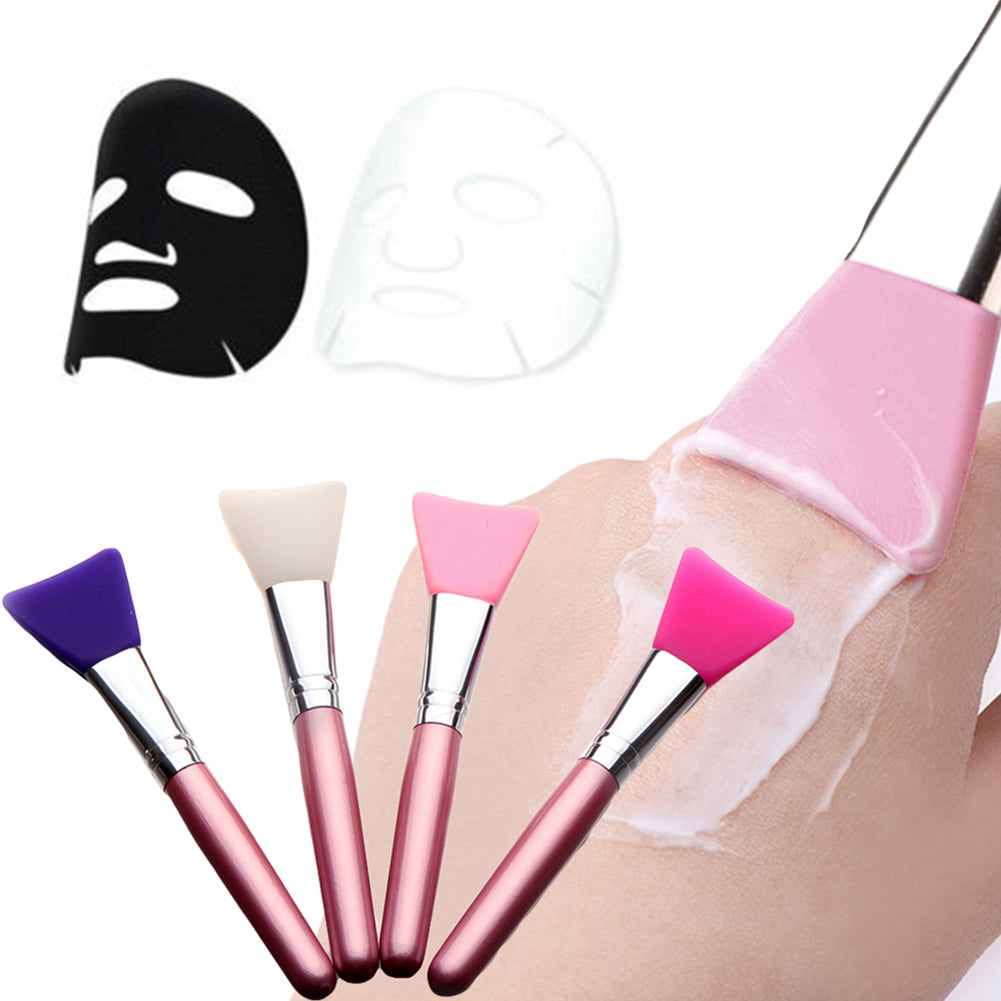 MilkySkinForever Soft Flat Silicone Mask Brush Facial Mud Applicator Skin Face Care Cosmetic