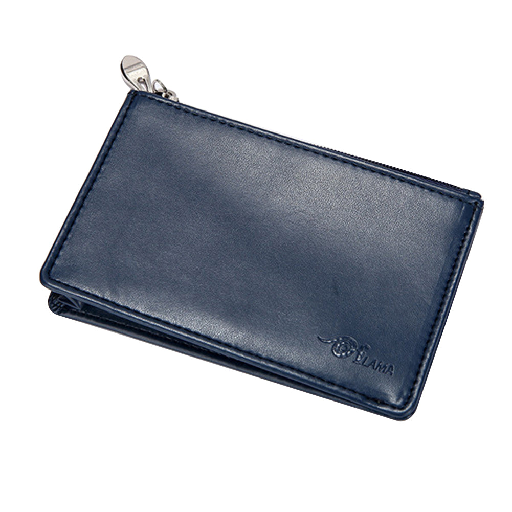 MilkySkinForever Mini Small Women Men Faux Leather Coin Purse Pouch Change Wallet Card Holder