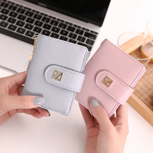 MilkySkinForever 22 Card Slots Heart Tassel Pendant Faux Leather Women's Car Holder Bag Wallet