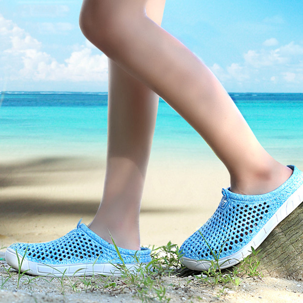 MilkySkinForever Fashion Women's Hollow-out Beach Sandals Summer Outdoor Sports Casual Slippers