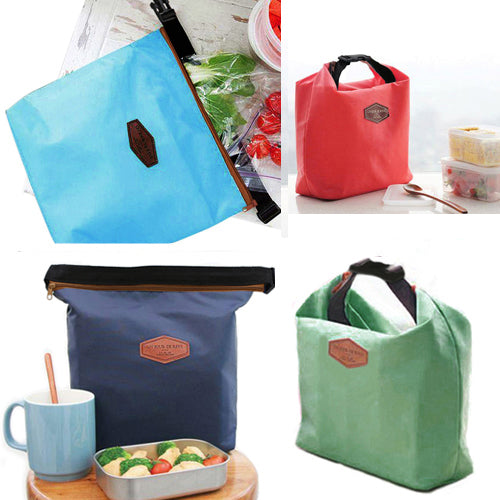 MilkySkinForever Creative Thermal Cooler Insulated Waterproof Lunch Carry Storage Picnic Bag Pouch