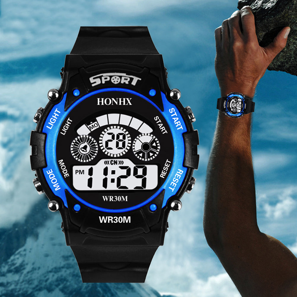 MilkySkinForever Fashion Sport Men Women Backlight Alarm Date Digital Outdoor Wrist Watch Gift