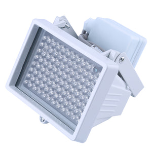 MilkySkinForever 96Pcs LED 12V Night Vision IR Infrared Illuminator Light Lamp for CCTV Camera
