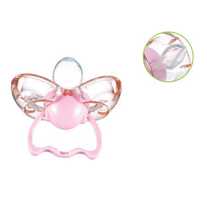 MilkySkinForever Silicone Baby Toddler Automatic Closing Type Thumb Shape Pacifier Dust Proof