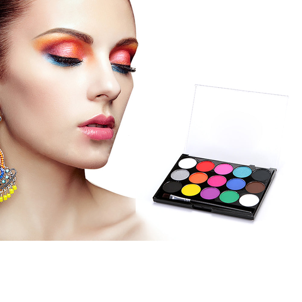 MilkySkinForever DIY Make Up Body Art Face Painting Multicolor Powder Safe Non-Toxic Pigment