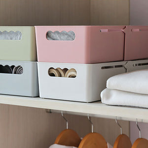 MilkySkinForever Adjustable Cabinet Drawer Divider Sock Underwear Cosmetic Storage Organizer Box