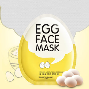 MilkySkinForever Egg Facial Masks Tender Moisturizing Oil Control Brighten Wrapped Mask Skin Care
