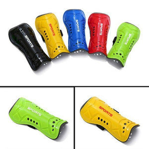 MilkySkinForever 1 Pair Sports Football Training Leg Shin Pads Kids Adult Soccer Guard Protector