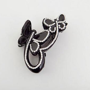 MilkySkinForever Elegant Women Butterfly Hair Clip Rhinestone Hairpin Wedding Hair Accessories