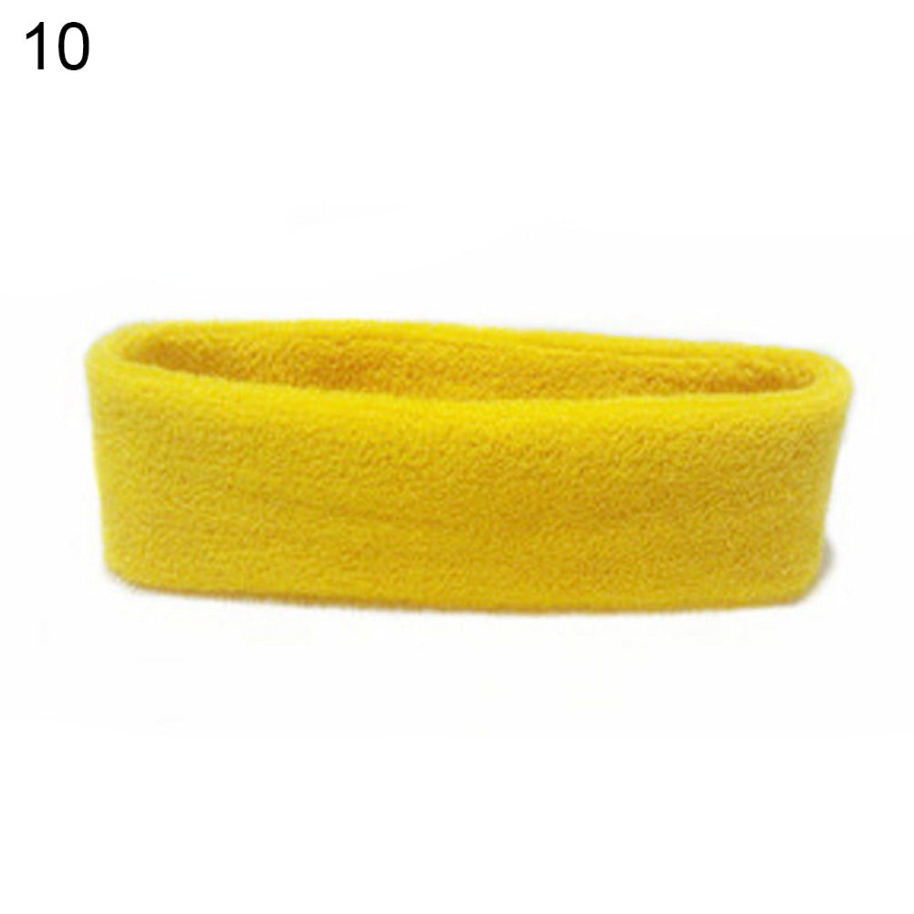 Unisex Sports Yoga Sweatband Headband Fashion Gym Stretch Head Band Hair Band