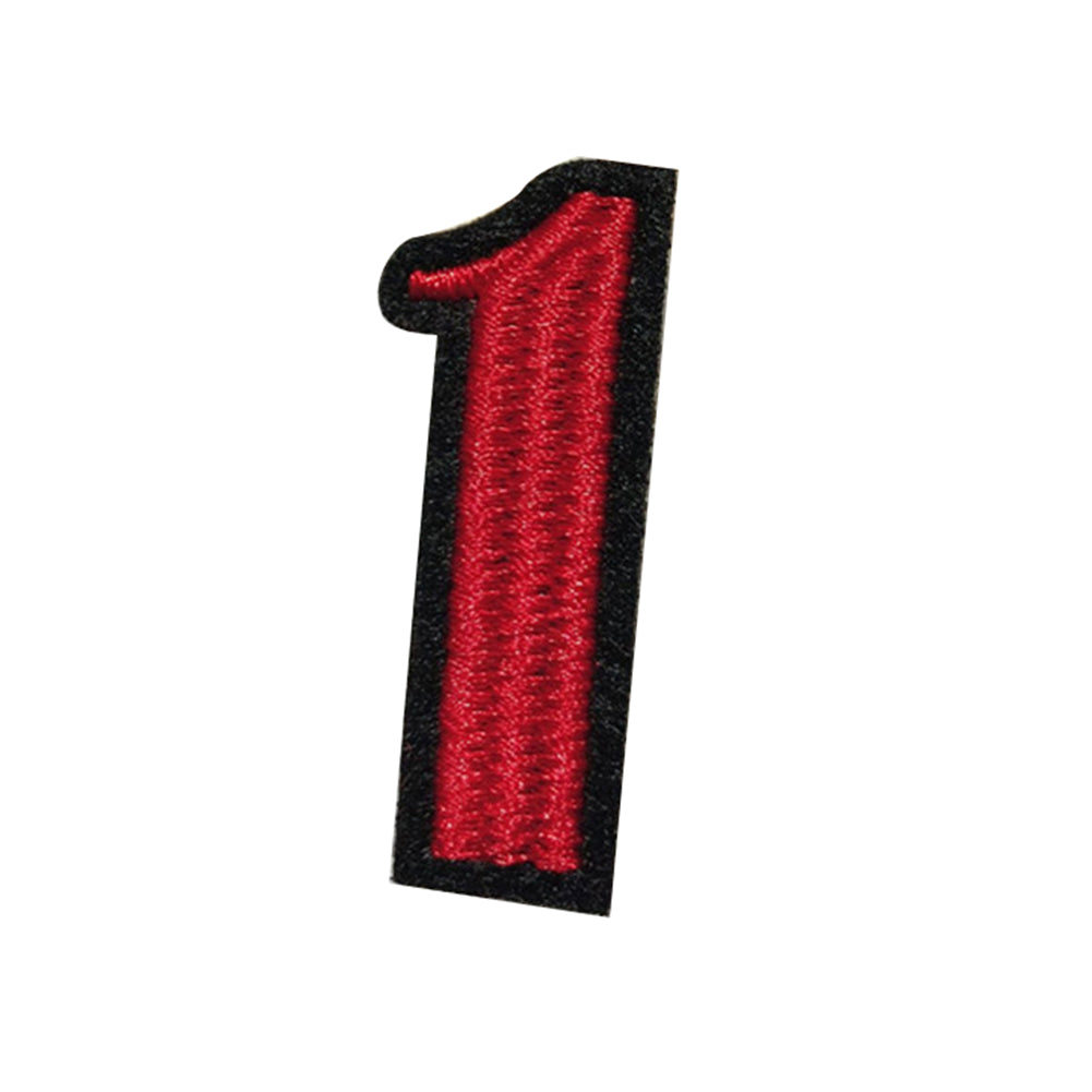 MilkySkinForever 0-9 Numbers Embroidery Patch Iron-On Sewing Applique Badge Clothes Jeans Decor