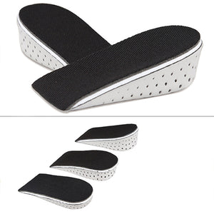 MilkySkinForever Men's Women's Fashion Comfortable Breathable Height Increase Eva Insoles Shoe Pads