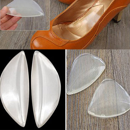 MilkySkinForever Silicone Gel Pain Relief Arch Support Shoe Inserts Foot Insole Wedge Cushion Pads