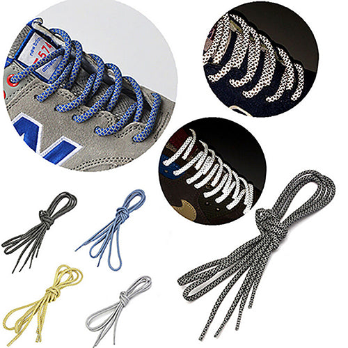 MilkySkinForever Unisex Reflective Round Rope Shoe Laces Durable Running Sport Shoelaces Gift