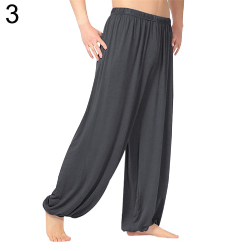 MilkySkinForever Unisex Casual Sport Jogger Baggy Trouser Jumpsuit Harem Yoga Pants Bottom Slacks