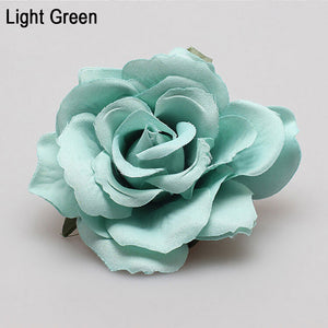 MilkySkinForever Rose Flower Hairpin Brooch Pin Hair Clip Bridal Bridesmaid Party Accessories