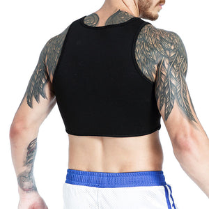 MilkySkinForever Men Sports Football Dumbbell Neoprene Training Chest Protector Sport Gym Vest