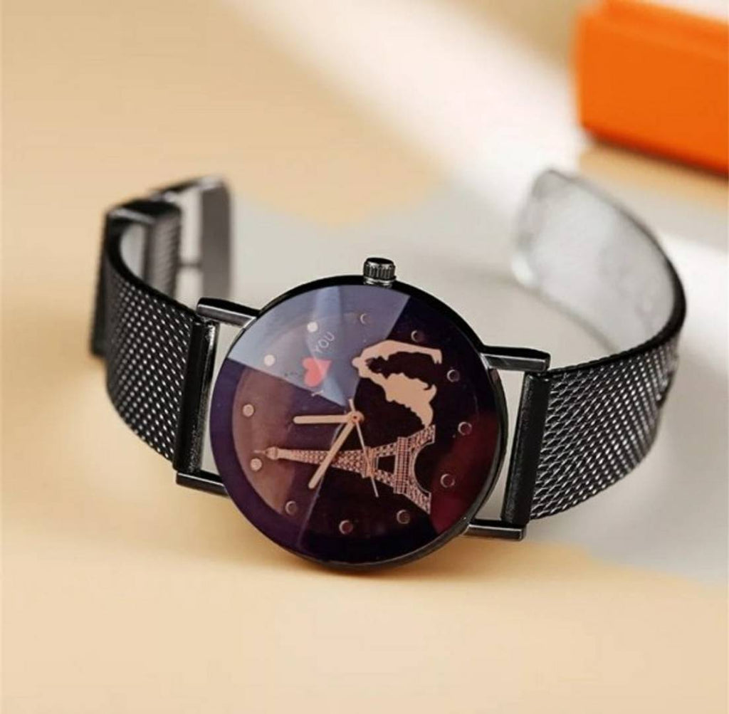 Stylish Mesh Strap Watches For Women