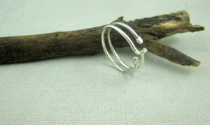 Alluring Sterling Pure Silver Rings For Women