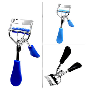 MilkySkinForever Fashion Eye Makeup Curling Eyelash Curler with Comb Clip Women Beauty Tool