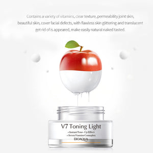 MilkySkinForever 50g Whitening Concealer Skin Care Moisturizing Brightens Tone-Up Light Cream