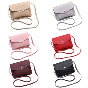 MilkySkinForever Women Fashion Small Faux Leather Handbag Crossbody Shoulder Phone Pouch Coin Bag
