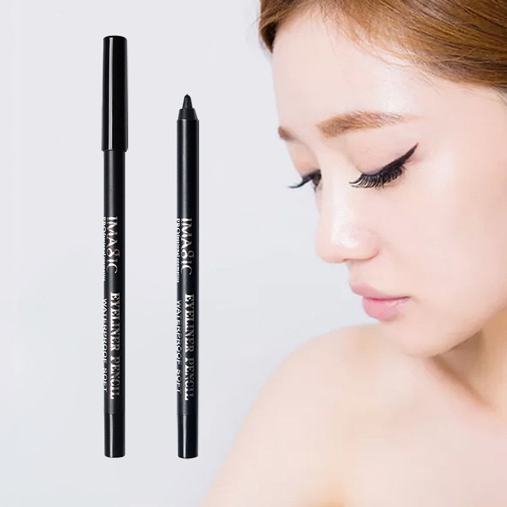 MilkySkinForever 12g Waterproof Eyeliner Pen Pencil Long Lasting Makeup Beauty Cosmetic Tool