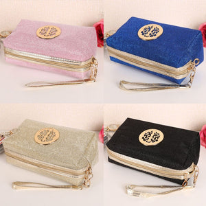 MilkySkinForever Glitter Travel Cosmetic Bag Women Fashion Multifunction Makeup Pouch Toiletry