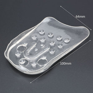 MilkySkinForever 5Layers Adjustable Silicone Gel Inserts Height Increase Lift Shoe Taller Insole