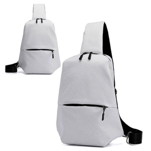 MilkySkinForever Men Fashion Nylon Sport Travel Chest Pack Shoulder Cross Body Sling Bag Gift