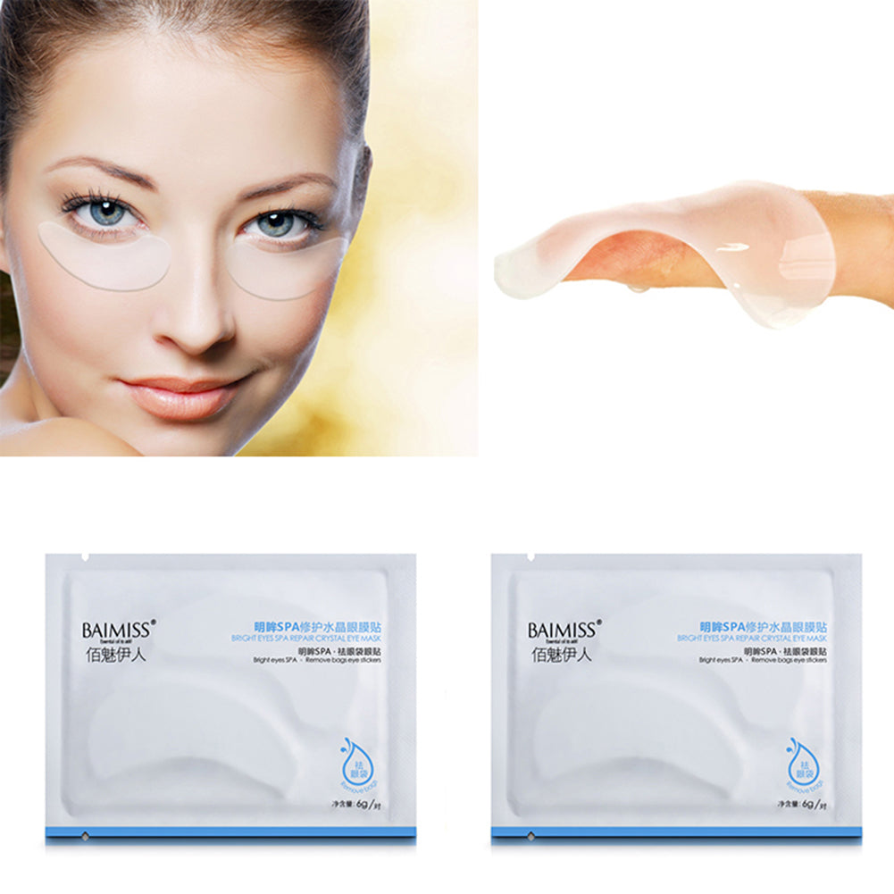 MilkySkinForever 1 Pair Moisturizing Eye Mask Patch Skin Care Anti Puffiness Dark Circle Remove