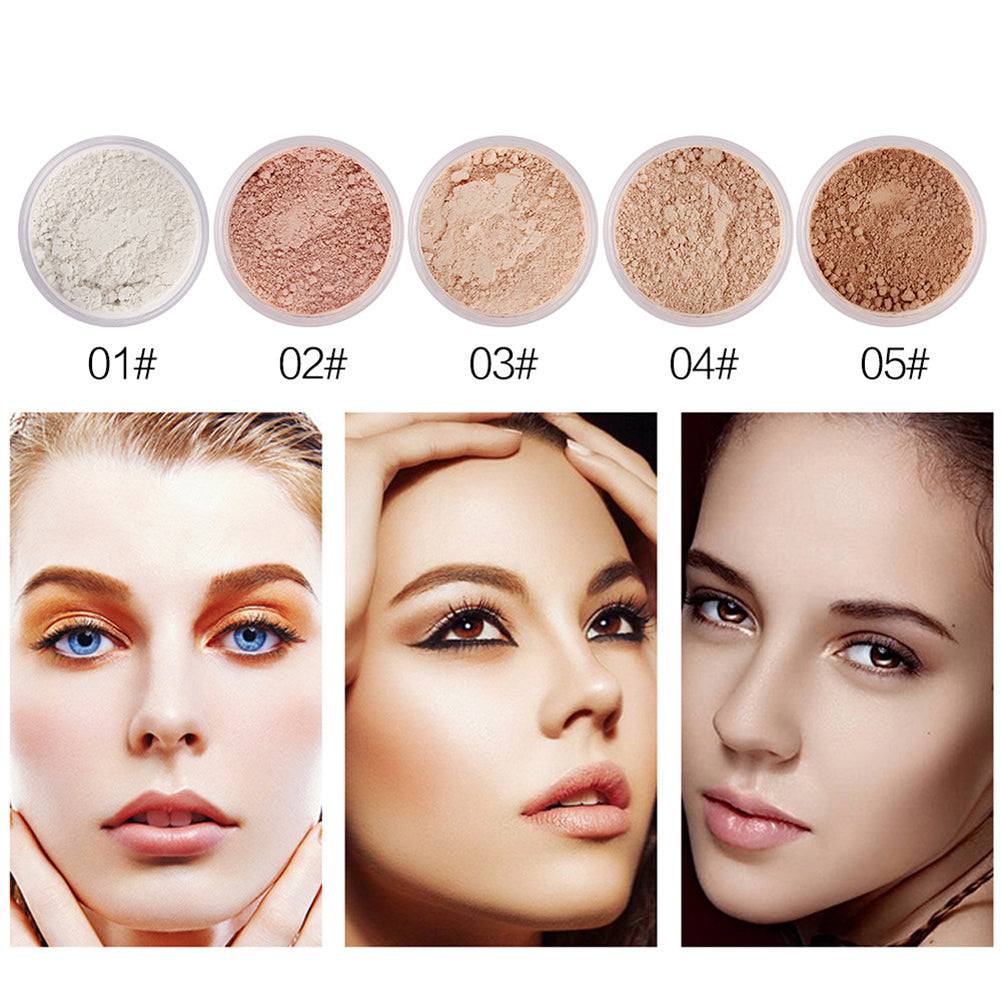 MilkySkinForever Oil Control Lasting Beauty Skin Makeup Concealer Cosmetic Finishing Loose Powder