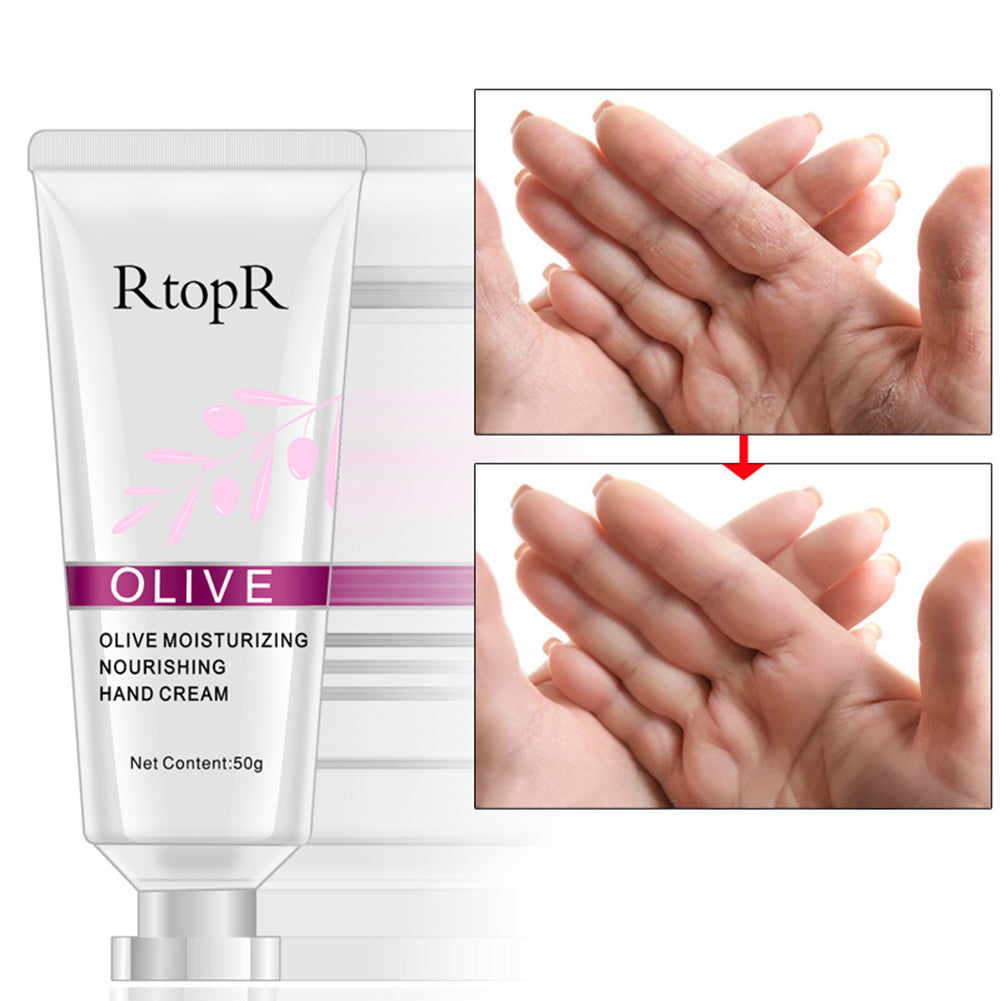 MilkySkinForever Olive Moisturizing Nourising Hand Cream Women Skin Care Anti Cracking Lotion