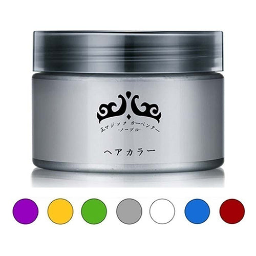 MilkySkinForever Unisex Professional Easy Modeling Temporary Dye DIY Hair Color Wax Hair Cream