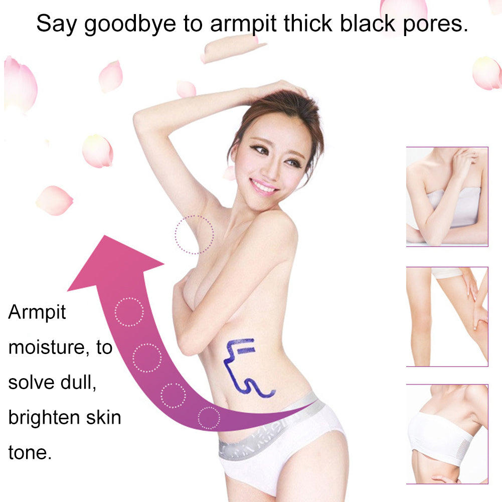 MilkySkinForever  Underarm Elbow Knee Privates Massage Deodorant Natural Armpit Whitening Cream